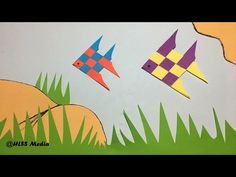 How to make an Origami Cute Fish Paper/ Fish Paper Folding craft/origami fish tutorial - YouTube