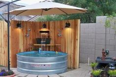 14 Ways to Make Your Tiny Backyard Super Awesome for Summer: DIY Plunge Pool