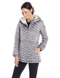 Steve Madden Women's Quilted Parka ** Check this awesome product by going to the link at the image.