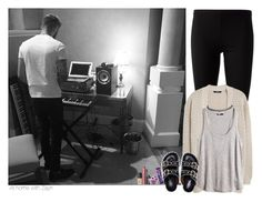 """""""At home with Zayn"""" by sexyirishman on Polyvore featuring P.A.R.O.S.H., MANGO, H&M, Wet Seal, Givenchy, NARS Cosmetics, tarte and Big Boss"""