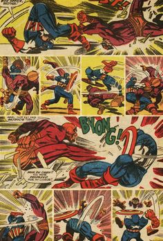 Tales of Suspence A brilliant Jack Kirby concept; no talking or description, just fighting. Another aspect of Kirby's excellence. Marvel Comics, Marvel Comic Books, Marvel Characters, Marvel Heroes, Comic Books Art, Comic Book Pages, Comic Book Artists, Comic Artist, Graphic Novels