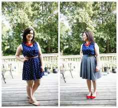 Rebecca Lately // Fourth of July Outfit // One dress, two ways // @shoppinkblush