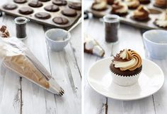 How to Pipe with Two or More colors of Frosting via @Katie Hrubec Goodman