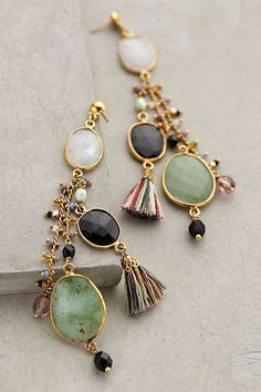Moondrop Tassel Earrings #anthrofave
