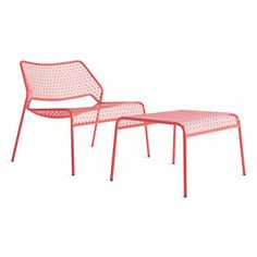 Hot Mesh Metal Lounge Chair, featured from Blu Dot's Hot Mesh series of wire mesh chairs and modern outdoor furniture. Perfect for the patio or poolside.