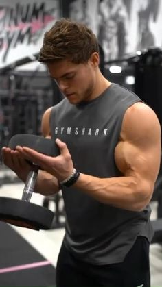 Fitness Workouts, Abs And Cardio Workout, Gym Workouts For Men, Gym Workout Chart, Gym Workout Videos, Weight Training Workouts, Gym Workout For Beginners, Bicep And Tricep Workout, Dumbbell Workout