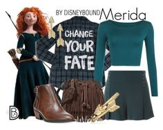 Merida by leslieakay on Polyvore featuring polyvore, fashion, style, WearAll, 10 Crosby Derek Lam, Dr. Scholl's, Rebecca Minkoff, Bling Jewelry, Fremada, Merida, clothing, disney, disneybound and disneycharacter