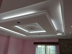 4 Exciting Tips AND Tricks: False Ceiling Living Room Chandeliers l shape false ceiling.False Ceiling Plan Layout false ceiling section interior design.False Ceiling Section Interior Design. Plaster Ceiling Design, Gypsum Ceiling Design, Interior Ceiling Design, House Ceiling Design, Ceiling Design Living Room, Bedroom False Ceiling Design, Home Ceiling, Ceiling Decor, Ceiling Ideas