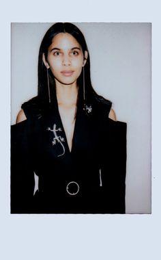 💄Polaroid Time 💄 Fitting ODAXELAGNIA Womenswear Fall 18 by Anel Yaos 080 Barcelona Fashion TNC   Photo 📸 Mario Chocron Model 👸🏽 Keliane Santos Accesories 🦎 Fátima Beltrán 🤖🔫🔮👑💊👾🤡 #AnelYaos #080barcelonafashion #odaxelagnia👄 #TNC #teatrenacionalcatalunya #Womenswear #Readytowear #Fall18 #art🎨 #artdirection #creativedirection #design #fitting #women #creativefashion #designer #kelysantos #fashionshow #fashionweek #polaroids