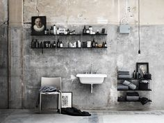 Nordic Love {modular design} - 3 brand per 3 stili Bad Inspiration, Bathroom Inspiration, Floor Design, House Design, Interior Exterior, Interior Design, Gray Interior, Interior Architecture, Swedish Interiors