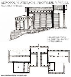 Akropol w Atenach- PROPYLEJE
