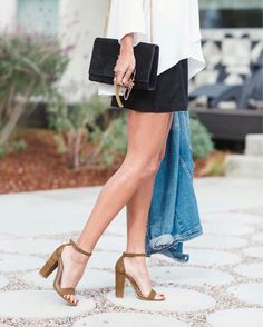 go-to heels of the moment. they come in a bunch of colors and they're under $100. they're a no brainer!