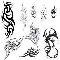 tribal tattoo designs for men - Google Search