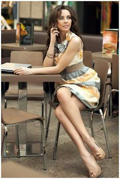 Very nice dress as a work outfit! #fashion #style