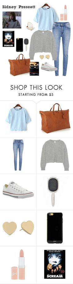 """Sidney Prescott - Scream"" by ashleigh-kuzio on Polyvore featuring Madewell, Cheap Monday, Iris & Ink, Converse, Earth Therapeutics, Kate Spade, Sonix, Rimmel and Ippolita"