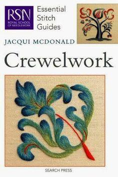 Вышивка Crewel (крюил) или Crewelwork – это вид декоративной вышивки выполненной в смешанной технике с использованием шерстяных ниток...