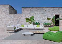 Salon de jardin design Canvas & Float - Paola Lenti
