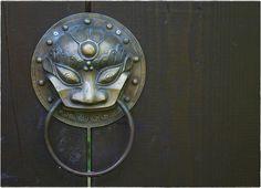 Japanese door handle