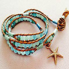 Free Wrap Bracelet Project Tutorial | Folklorico | Beadshop.com