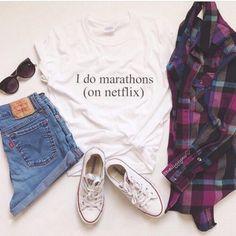 shirt pale grunge netflix tumblr cute clothes shorts flannel shirt converse quote on it sunglasses denim levis levis shorts instagram t-shirt blouse