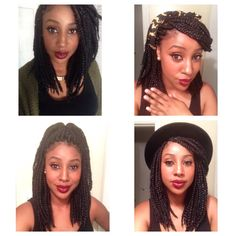 The next style I am trying! Getting a little tired of these long box braids.