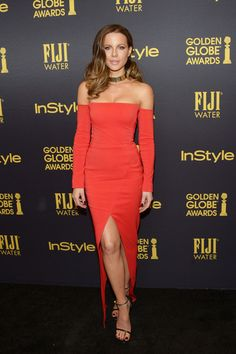 Actress Kate Beckinsale arrives at the Hollywood Foreign Press Association and InStyle celebrate the 2017 Golden Globe Award Season at Catch LA on November 10, 2016 in West Hollywood, California.