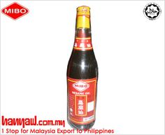 Visit- http://www.hanyaw.com.my/Products/Mibo_Sesame_Oil_300ml.html