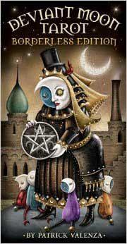 Deviant Moon (borderless) tarot deck by Patrick Valenza