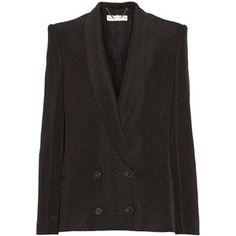 Stella McCartney Snake-jacquard blazer
