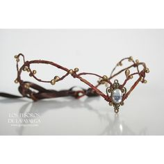 Woodland Elf Tiara Elven Headpiece Fairy Crown (29 CAD) ❤ liked on Polyvore featuring accessories, hair accessories, silver, crown tiara, lace tiara, tiara crown, lace hair accessories and crown hair accessories