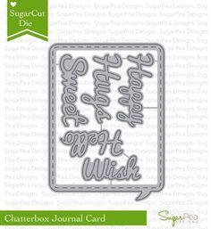 Sugar Pea Sugar Cuts-Chatterbox Journal Card