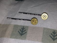 Bullet Hairpin Bobby pins 45 Caliber Handgun Ammo with Swarovski Crystals for Firearms Loving Country Girl Shotgun Shell Jewelry, Ammo Jewelry, Bullet Jewelry, Jewelry Art, Shotgun Shells, Cute Country Outfits, Country Girl Style, Country Girls, Hunting Girls