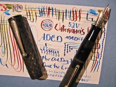 Waterman X Fine FLex Nice Nib 52V Fountain Pen New SAC vtg 14k Gold flexible 52 #Waterman