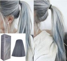 $6.69 - Berina Hair Colour Permanent Cream Hair Dye - Light Grey Silver A21 21+Ship #ebay #Fashion