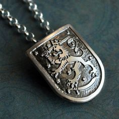 finnish coat of arms jewelry - Coat of Arms of Finland. Bandaid Tattoo, Finnish Language, My Heritage, Cool Logo, Coat Of Arms, Scandinavian Style, Arm Tattoo, Dog Tag Necklace, Jewelery