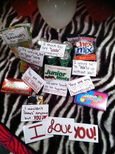 Inexpensive and cute way to surprise your boyfriend, husband, or significant other