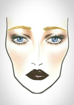 MAC Halloween Face Chart The great Gatsby | Flickr - Photo Sharing!