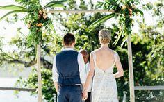 "Time to say ""I Do"" at #NavutuStarsFiji #destinationwedding #Fiji"