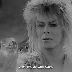 i need you by my side David Bowie Labyrinth, Labyrinth 1986, Labyrinth Movie, Old Movies, Vintage Movies, Jim Henson Labyrinth, Labrynth, Goblin King, The Dark Crystal