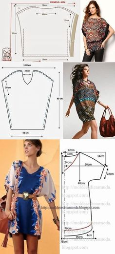 Amazing Sewing Patterns Clone Your Clothes Ideas. Enchanting Sewing Patterns Clone Your Clothes Ideas. Sewing Dress, Dress Sewing Patterns, Diy Dress, Clothing Patterns, Loom Patterns, Crochet Patterns, Fashion Sewing, Diy Fashion, Ideias Fashion