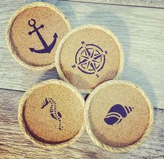 Hey, I found this really awesome Etsy listing at https://www.etsy.com/listing/267147258/beach-drink-coasters-beach-decor-blue