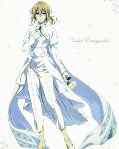 violet evergarden outfit anime