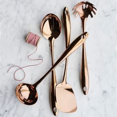 Copper Pasta Fork