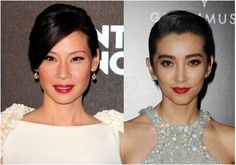 Another common type of medium skin is Asian skin with a warm yellow-undertone, like Lucy Liu and Li Bingbing.