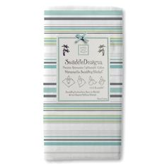 SwaddleDesigns Marquisette Swaddling Blanket, Jewel Tone Stripes, Turquoise SwaddleDesigns - an alternative to Aden + Anais. I like their designs and they also come in different fabrics.