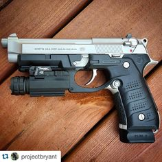 "7,255 Likes, 110 Comments - William H. (@weaponsdaily) on Instagram: ""Beretta 92FS. PC: @ProjectBrytant"""