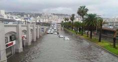أمطار طوفانية تجتاح الجزائر | وكالة أنباء البرقية التونسية الدولية