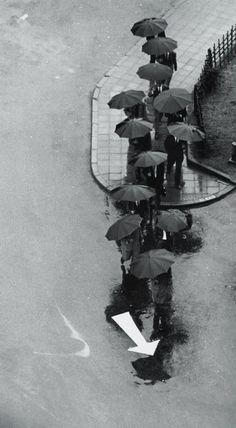 Rainy Day, Tokyo, 1968 by André Kertesz.