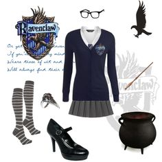"""Ravenclaw House"" by archimedes16 on Polyvore"