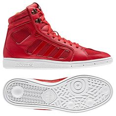 adidas red high tops